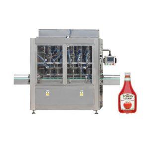Makinë për mbushjen e reçelave të salcave të domates