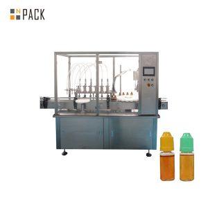 Makinë mbushëse e lëngshme e pompës peristaltike për shishe të vogël shishme