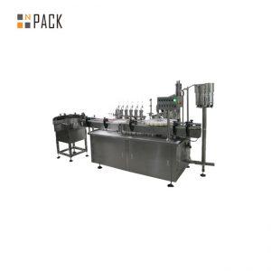 Pika e personalizuar e qelqit dhe makina e etiketimit të mbushjes së lëngshme të cigareve