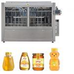 Linja automatike e servisit të pistonëve të tipit Servo Mjaltë me mbushje të lartë të lëngshme me viskozitet, Linja e makinës për etiketim