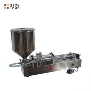 Makinë shumë e njohur për mbushjen e akullores / makina mbushëse me dy koka / makine mbushëse për thonjtë e thonjve