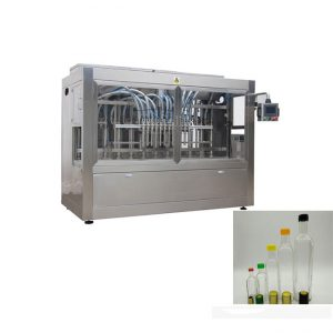 makine mbushëse automatike me shishe qelqi shishe qelqi