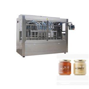 Makinë për mbushje të lirë të mbushjes me kavanoz të mjaltit për mbushje