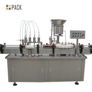 Makinë për mbushjen e shisheve topolake të topolakëve me cilësi të lartë e-lëng e makina mbushëse të lëngshme makine mbushëse me pika të vogla