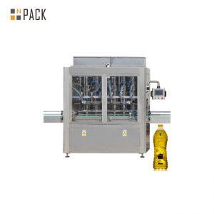makine automatike mbushëse për shishe të naftës me motor motorik me çertifikatë GMP